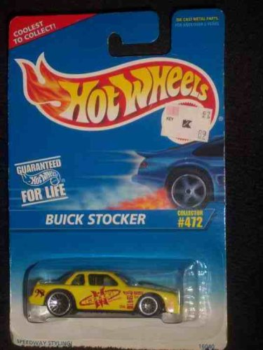 #472 Buick Stocker China With Tampo Lace Condition Mattel Hot Wheels