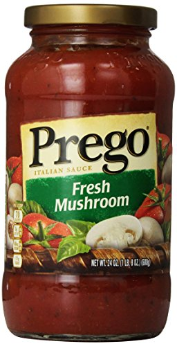 Prego Fresh Mushroom Italian Sauce, 1 lb 8 oz (Italian Mushrooms compare prices)
