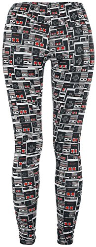 Nintendo Controller Leggings stampa allover M