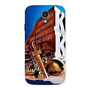 Enticing King Power Back Case Cover for Samsung Galaxy S4