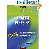 Analyse PC-PSI-PT : Cours, méthodes et exercices corrigés