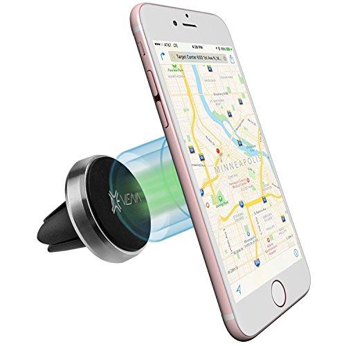 Vena KFZ handyhalterung magnet [AIRM] Universal Lüftungsschacht Auto Halterung Aluminum KFZ Halter Car Mount Holder iPhone 7/SE/6S/6 Plus/5, Galaxy S7/S6 Edge/S5/Note 7, LG G5/G4 Smartphone Picture