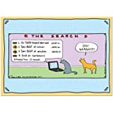 Pet Lovers! Hilarious Rhymes with Orange Greeting Card Assortment - from Hilary B. Price and Tree-Free Greetings, Set of 12 Cards and Envelopes, 2 Each of 6 Card Designs (91193)