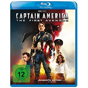 Captain America - the First Avenger [Blu-ray] [Import allemand]