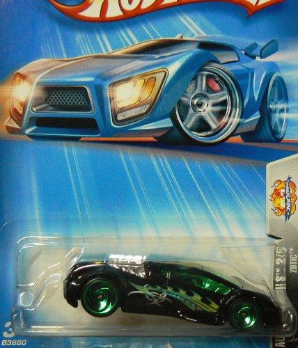 Hot Wheels 2004 Autonomicals 2/5 Zotic BLACK 159 - 1