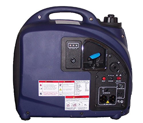 1000/2000 Watt Digital Inverter Generator (Ultra Lightweight And Quiet) (2000 Watt)