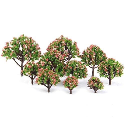 lot-de-10pcs-arbres-a-fleurs-en-plastique-pour-paysage-modelisme-ferroviaire-echelle-175-1-500