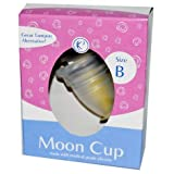 GladRags Menstrual Cups Size B (for use after C-section or before vaginal childbirth) The Keeper Moon Cup - 1 ea