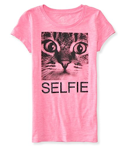 ps-from-aeropostale-unisex-child-selfie-graphic-t-shirt-10-pink-pulse-neon