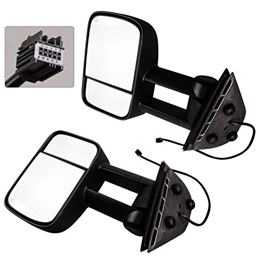 Lowest Prices! YITAMOTOR Pair for 07-14 Silverado GMC Sierra Yukon Side View Mirrors Power Heated To...