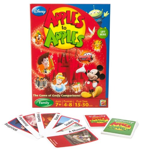 Disney Apples To Apples - The Game Of Goofy Comparisons - 1