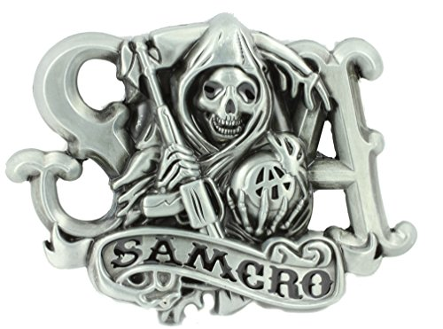Deal Fashionista SAMCRO Sons of Anarchy Reaper Belt Buckle