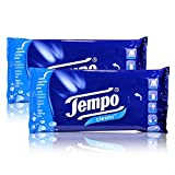 2 x tempo cleans humidity, cleansing tissues, box of 25
