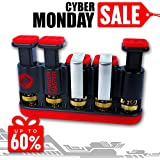 Finger Master Hand Strengthener ✠ Finger & Hand Exerciser For Athletes, Musicians, Rock Climbers & Physical Therapy