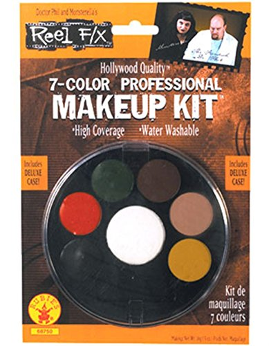 7 Color Professional Makeup Kit Reel F/X Halloween Costume Makeup