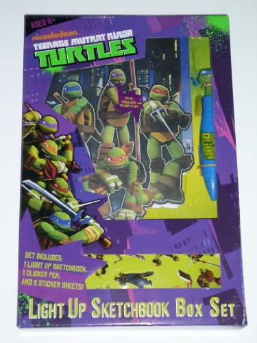 Teenage Mutant Ninja Turtles Light Up Sketchbook Box Set - 1