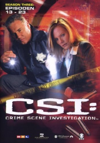 CSI: Crime Scene Investigation - Season 3.2 (Amaray) [3 DVDs]
