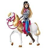 Barbie Poupée Mannequin Et Son Cheval