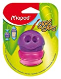 Maped Croc-Croc 2-Hole Pencil Sharpener with Expandable Canister, Assorted Colors (001700ST)