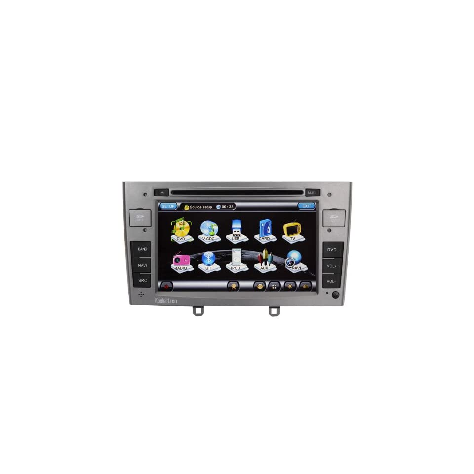 For Peugeot 308 / 308SW / 408 Car DVD Player with GPS navigation and 7 HD touchscreen and Bluetooth