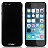 """Minisuit Frost TPU Slim Rubber Grip Case for Apple iPhone 6 4.7"""" (Black)"""