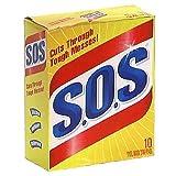 S.O.S. Steel Wool Soap Pads 10 pads