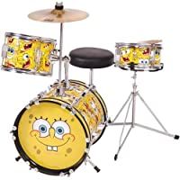 Spongebob 3pc Junior Drum Kit by Performance Percussion