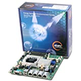 Jetway NF9HQL-525 Atom D525 Quad-LAN Thin Mini-ITX Motherboard, DC Power