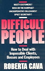 "Cover of ""Difficult People: How to Deal W..."