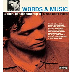 Words & Music: J. Mellencamp's Grt. Hits [2 CD]