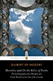 Monodies and On the Relics of Saints: The Autobiography and a Manifesto of a French Monk from theTime of the Crusades (Penguin Classics)