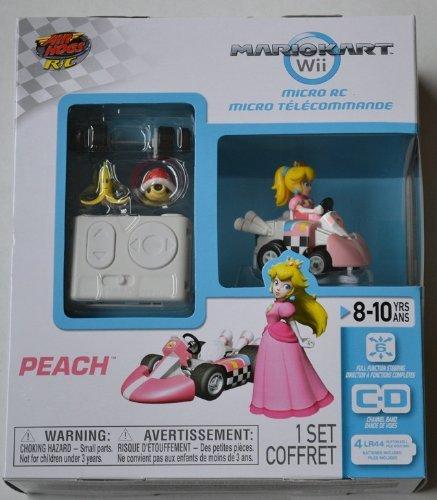 Mario Kart Wii Exclusive Micro R/C Remote Control Peach