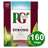 PG Tips The Strong One 160s Pyramid Teabags 4x464g