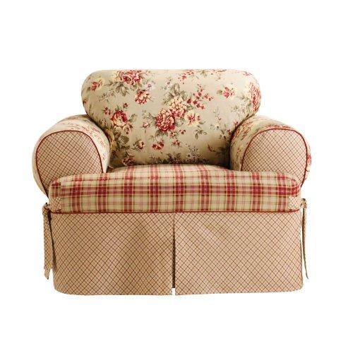 Sure Fit Lexington T-Cushion Chair Slipcover, Multi front-1047222