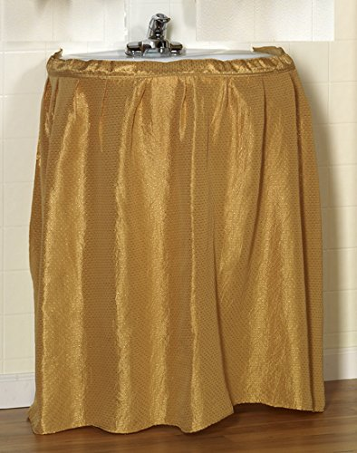 Gold Bed Skirt front-795538