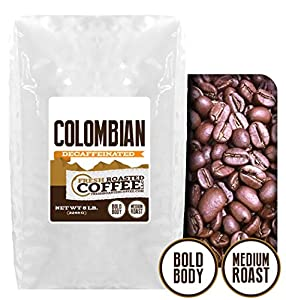 100% Colombian Decaf Coffee, Fresh Roasted Coffee LLC