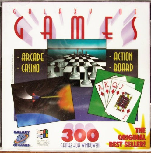 Galaxy of Games (Over 300 Arcade, Casino, Action, Board & More) - 1