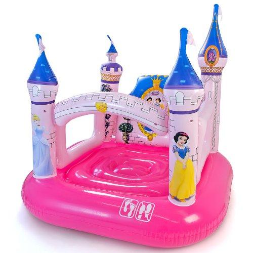 Imagen 1 de Castillo hinchable infantil princesas Disney 157 x 147 x 163 cm