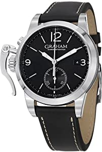 Graham Chronofighter 1695 Men's Black Dial Automatic Chronograph Watch 2CXAS.B02A