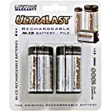 AGAIN AND AGAIN ULN2C Rechargeable C Cell NiCd Batteries