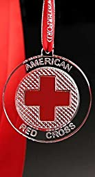 Red Cross Resilience Ornament - New by Waterford