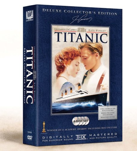 Titanic (Deluxe Collector's Editon, 4 DVDs) [Deluxe Collector's Edition]