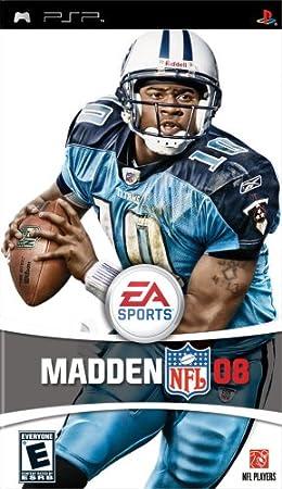 Madden NFL 08 - Sony PSP