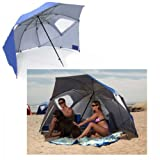 Sport Brella Beach Umbrella (Blue) (54