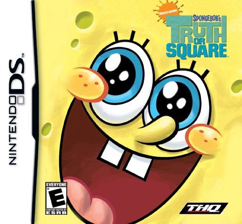 Spongebob Truth Or Square - Nintendo Ds front-678827
