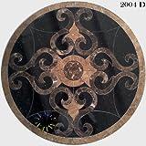"Marble Medallion Mosaic Floor Tile Travertine Star 30"" - - Amazon.com"