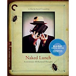Naked Lunch (Criterion Collection) [Blu-ray]