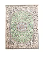 Navaei & Co. Alfombra Persian Nain Extra 9 Lah Verde/Multicolor 300 x 200 cm