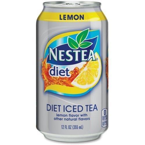 nestea-diet-lemon-iced-tea-can-lemon-12-fl-oz-can-24-carton-brown-by-nestea