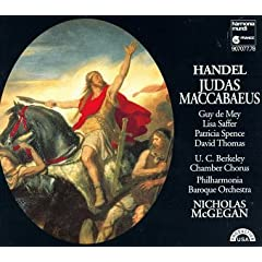 Handel;Judas Maccabaeus